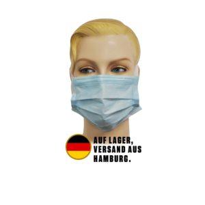 3-lagige Schutz-Maske 50 Stk.