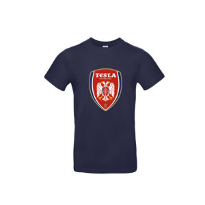Nikola Tesla T-Shirts Wappen