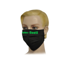 Hafen Basti Falt-Schutz-Maske, 2 Stk.